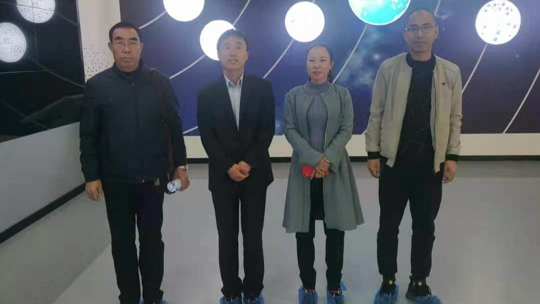 中国建材报《水泥内参》媒体记者来访山东埃尔派粉体科技有限公司