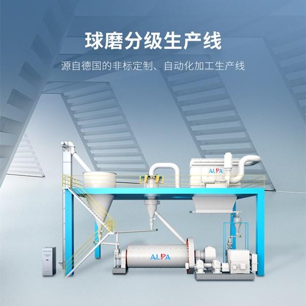 硅酸锆球磨分级生产线