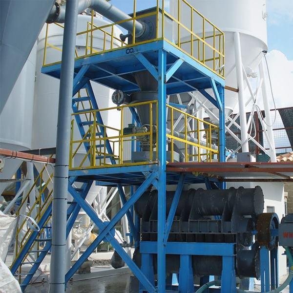 希腊某建材厂超细水泥超微粉碎生产线