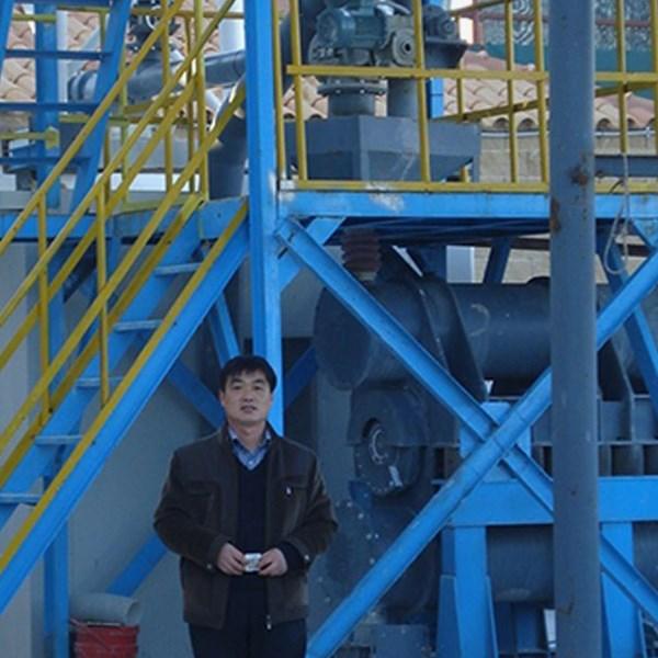 浙江某建材厂超细水泥粉碎生产线