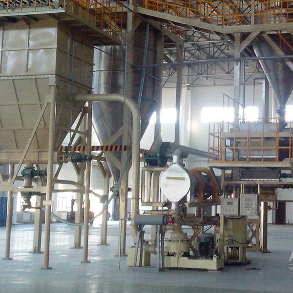 营口市某集团公司氧化镁改性生产线