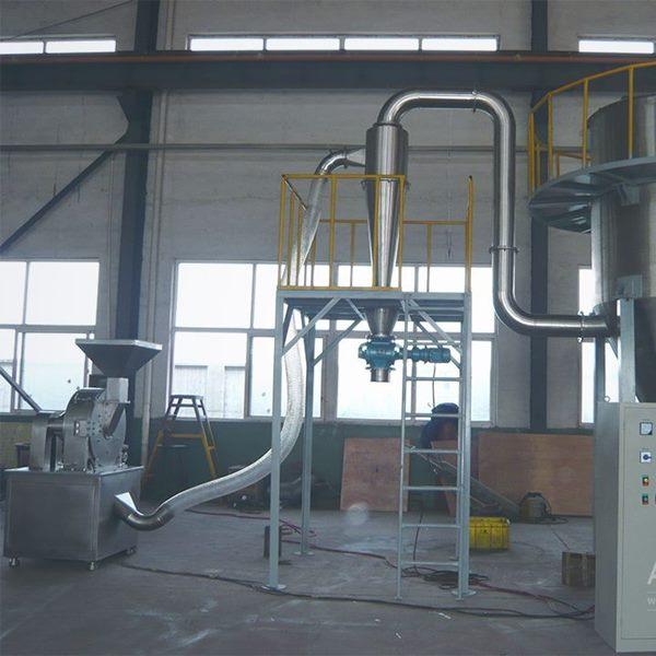 泗洪县某洗涤用品厂皂粉超微粉碎生产线