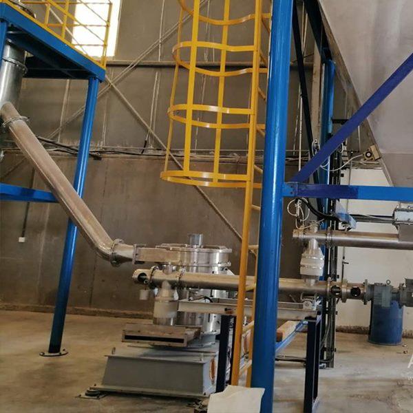 沙特某复合肥公司硫酸钾粉碎生产线