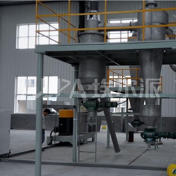辽宁海城某超细粉体企业 碳酸钙FL450气流分级机生产线