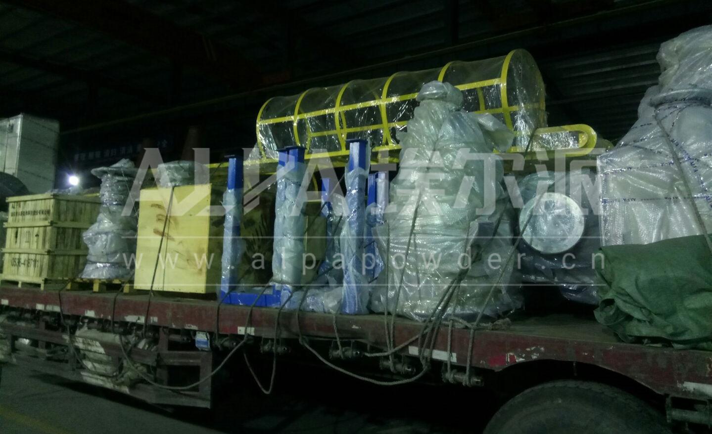埃尔派为知名食品企业提供的空气分级磨顺利发货
