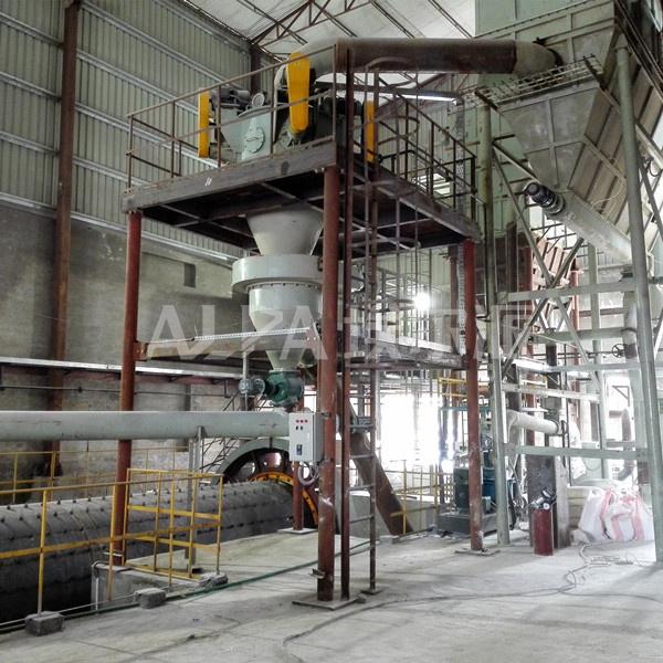 碳酸钙球磨粉碎+气流分级生产线
