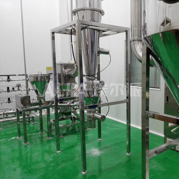 氮化硼小型超细气流粉碎机MQW10气流粉碎机